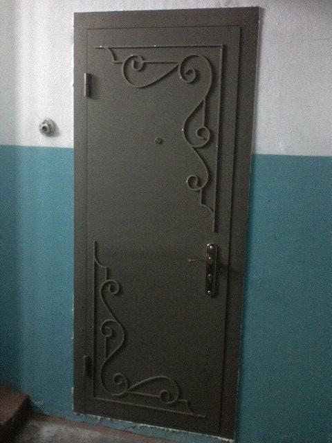 Металлические двери входные своими руками