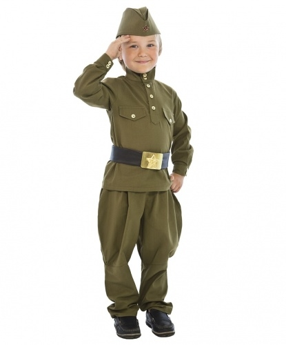 Как сделать костюм военного
