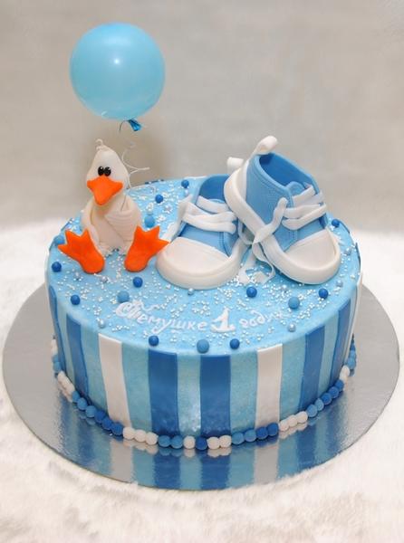 Год, торт ребенку на 1 год, торт мальчику на 1 год, торты на 1 год фото. торт Торт на годик мальчику Детский торт...