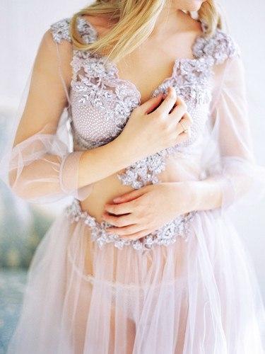 Будуарное платье невесты своими руками мастер класс 46