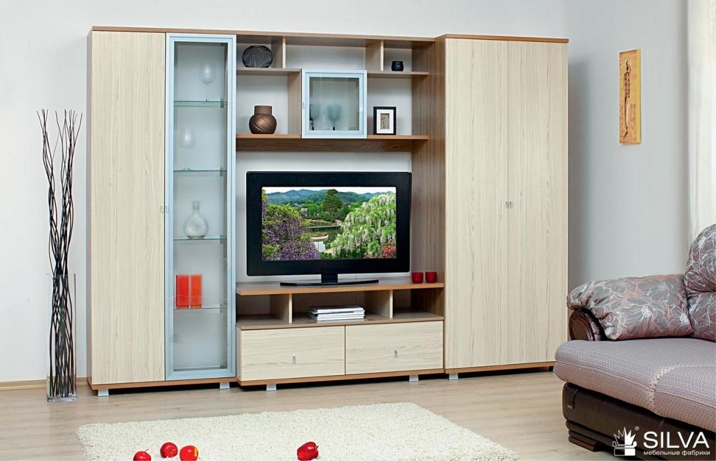 Модульная Мебель Для Гостиной Светлая