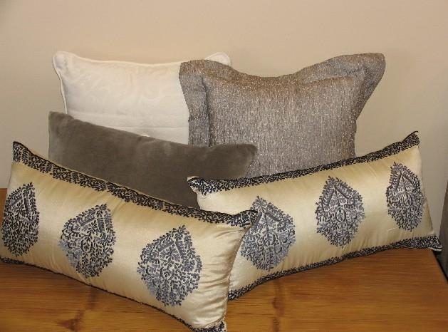 Прямоугольные подушки своими руками