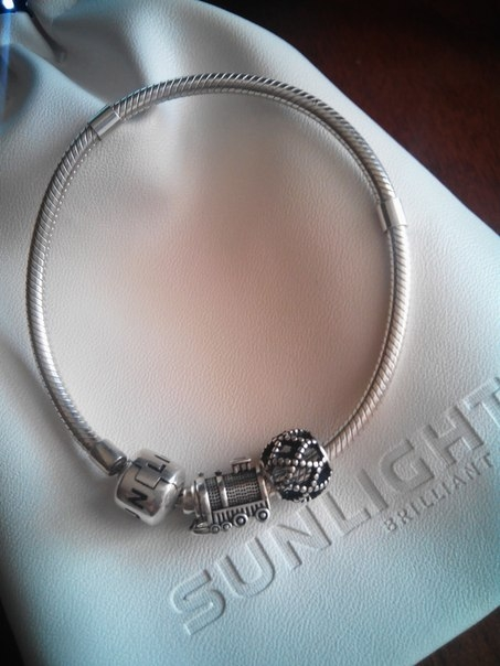 Серебряные шармы для браслетов sunlight