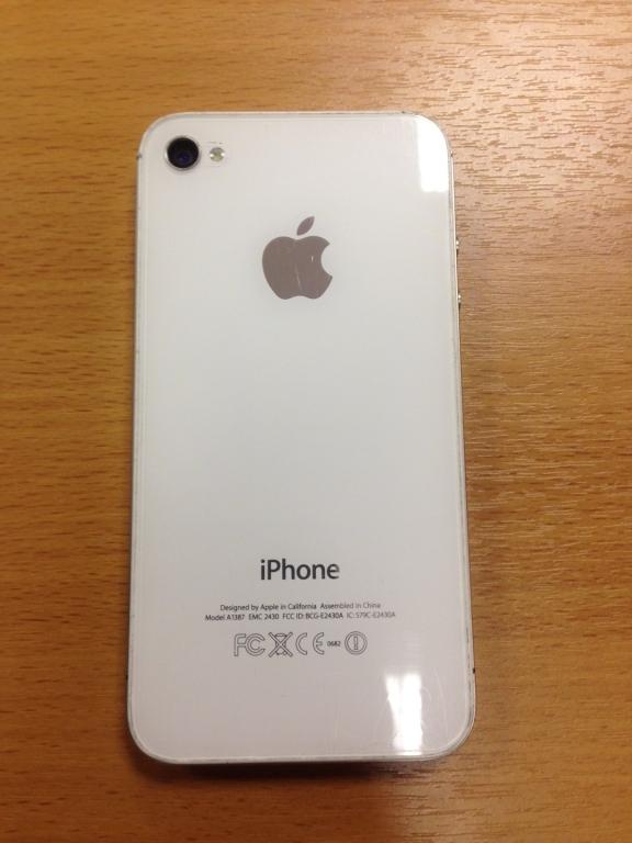 Iphone 4 s белый фото