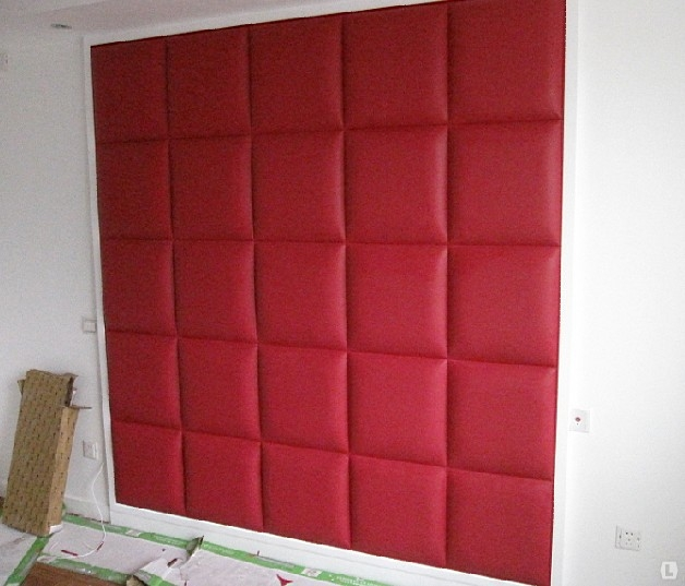 Мягкие плитки для стен своими руками 47