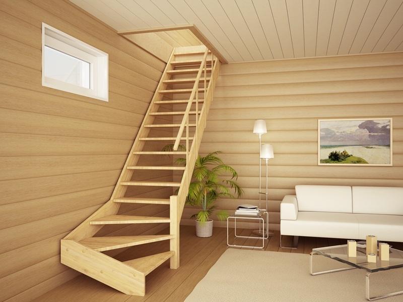 Деревянные лестницы в доме своими руками