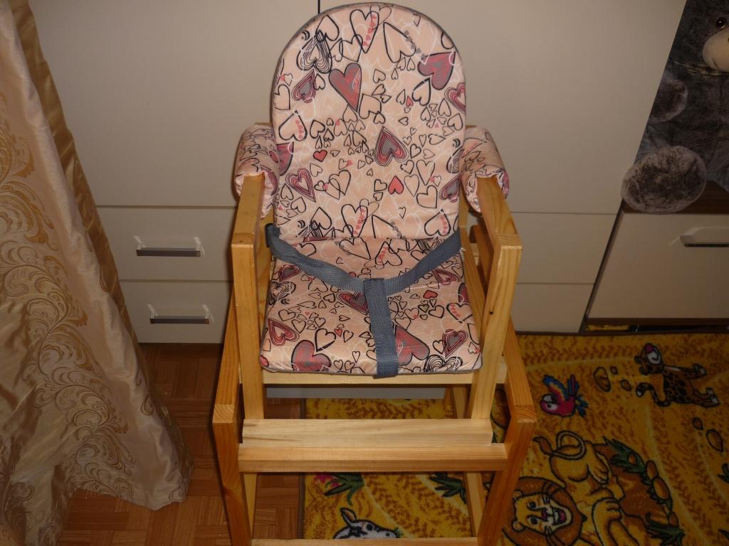 Стол-стул для кормления трансформер своими руками 56