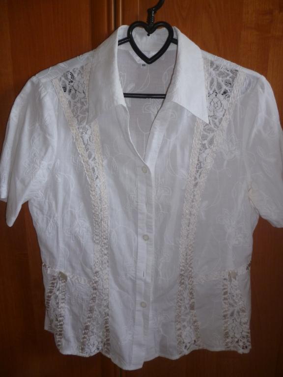 Рубашка с шитьем фото