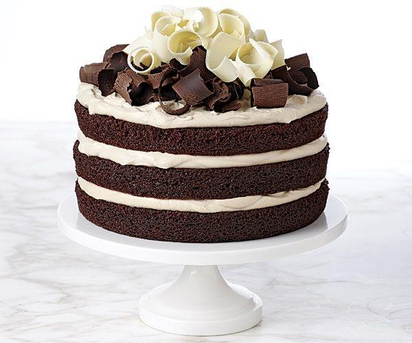 Как украсить модно торт