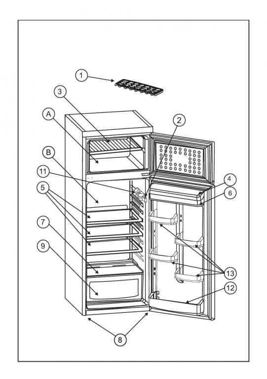 Скачать pdf * страница 12 / 22 * инструкция по эксплуатации zanussi zrd332so * холодильники zanussi инструкция