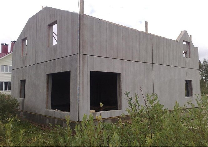 Дом из панелей жби своими руками