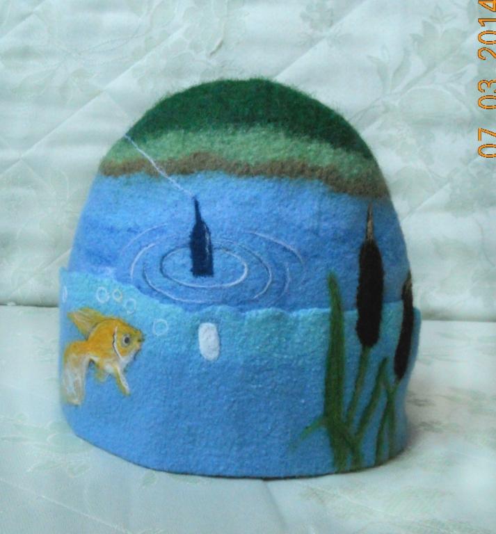 (банк) волен валяные шапки для бани потом, когда