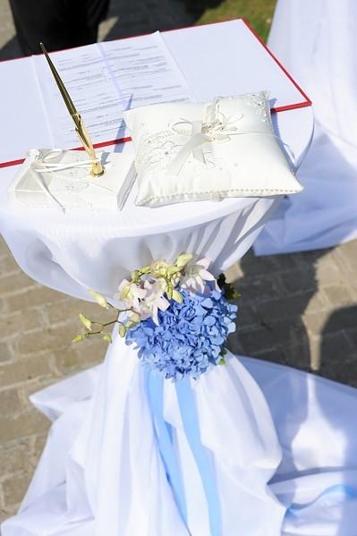 Стол для регистрации брака 120