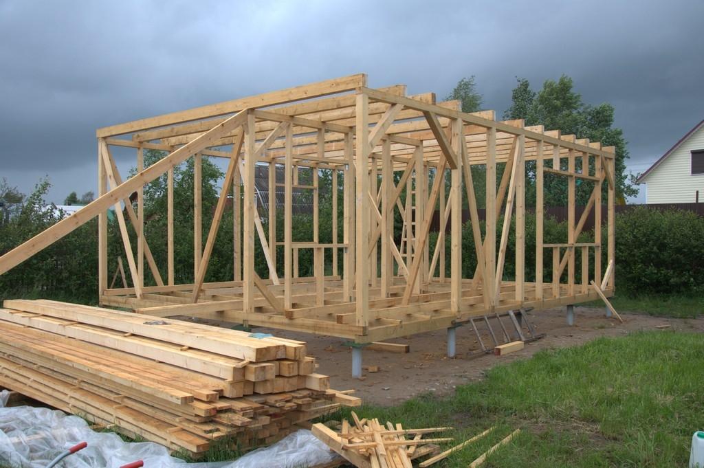 Дешёвый дом своими руками без опыта строительства 21