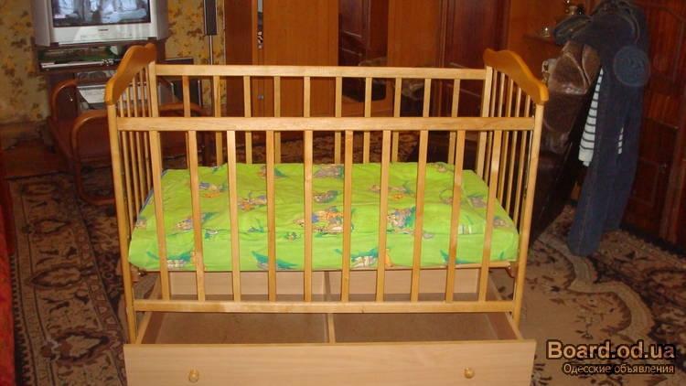 Как сделать ящик для детской кроватки