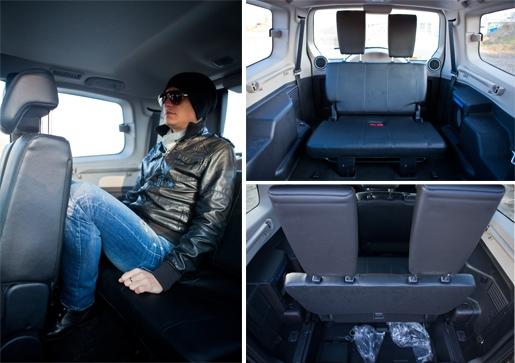 Третий ряд сидений на паджеро 4
