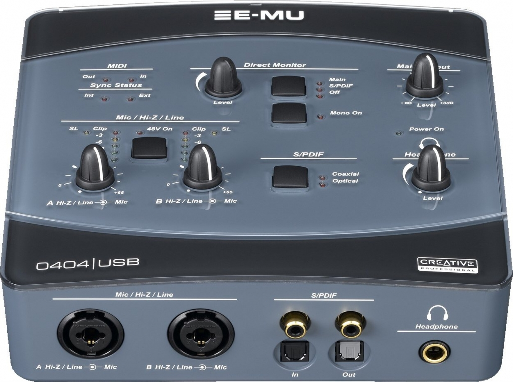 Emu 0404 Usb Windows 7 Driver