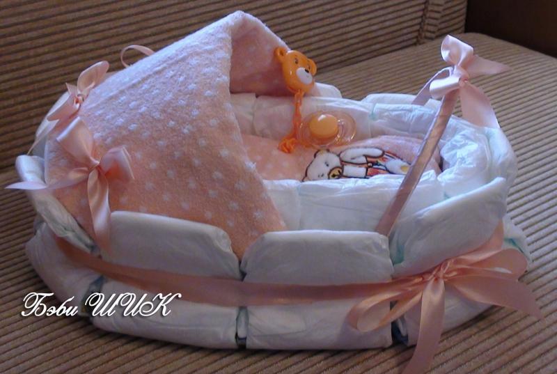 Подарок пошагово для новорожденных 324