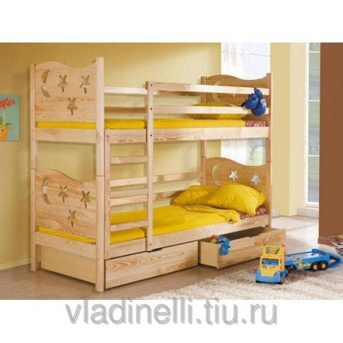 Двухъярусная кровать для детей фото своими руками