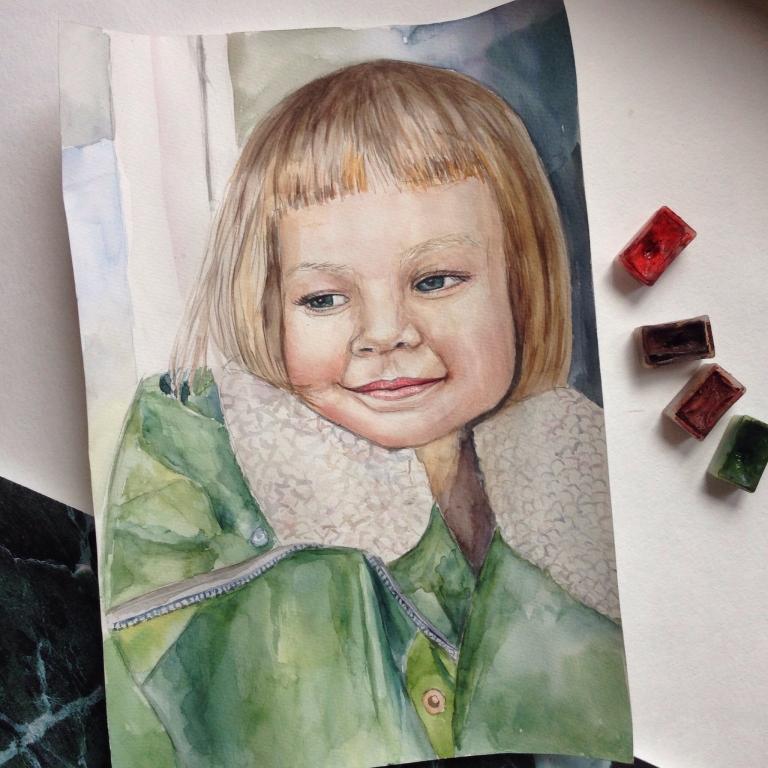 Открытка с портретом на заказ, открытки поздравляем открытки