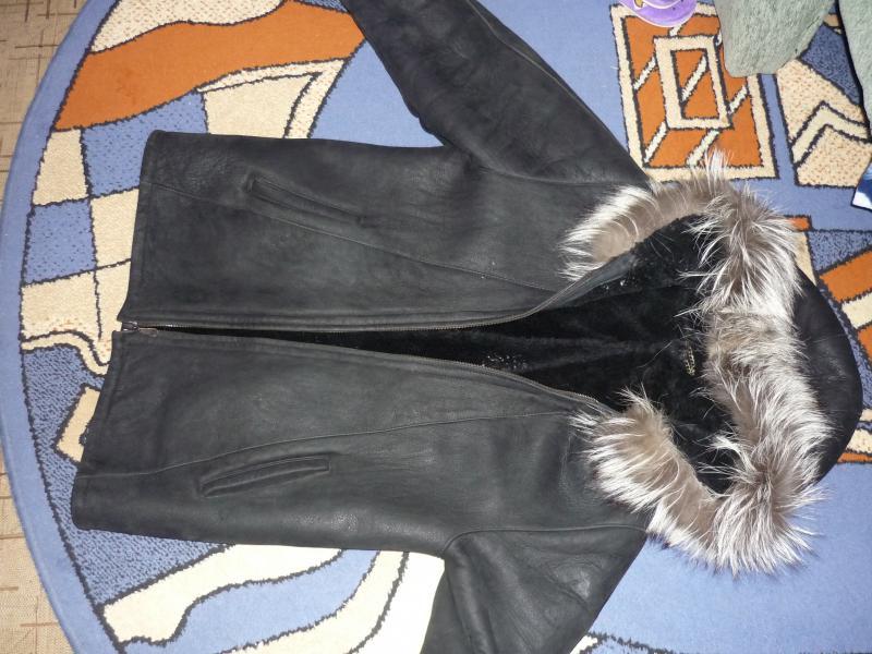 Рукоделие ... сшила шикарную куртку из старой дубленки, и.