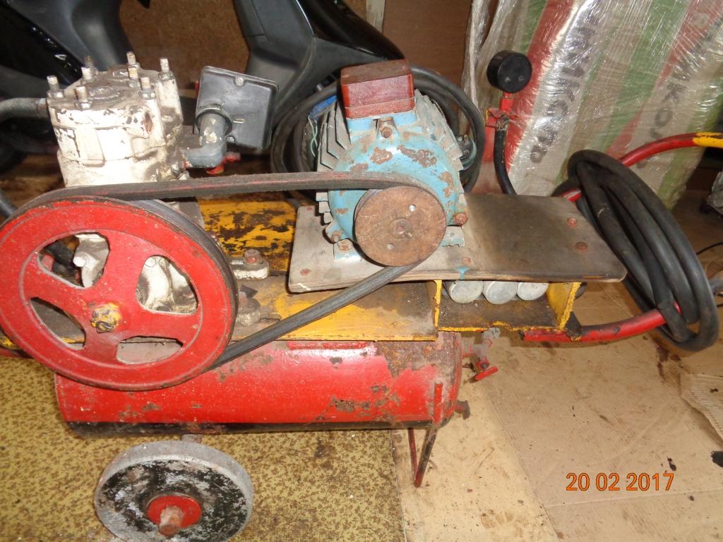 Самодельное колесо компрессора