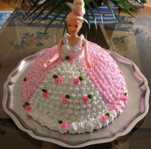 как сделать торт барби фото