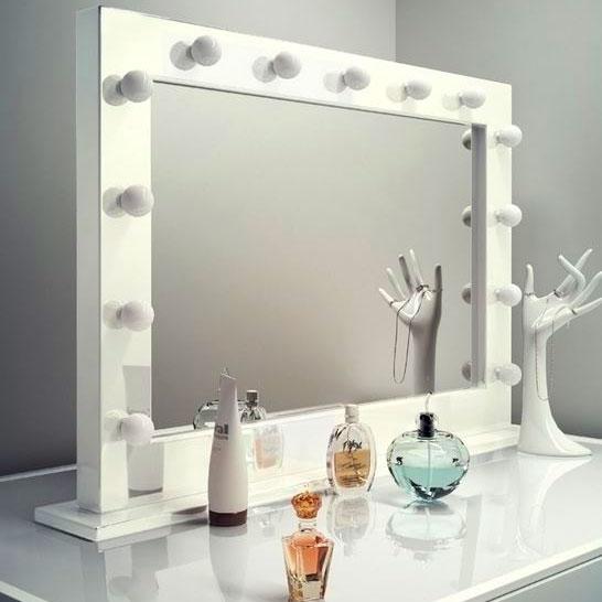 Как самому сделать гримерное зеркало