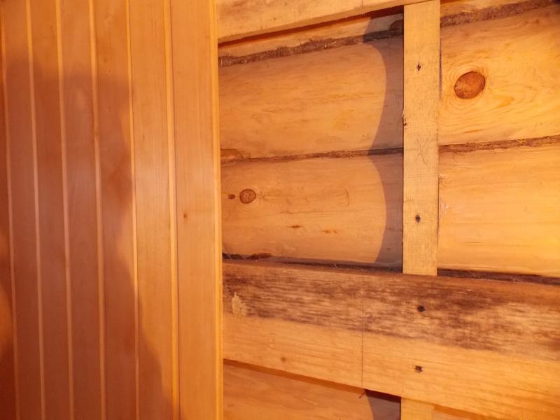 Как сделать откосы в сауне