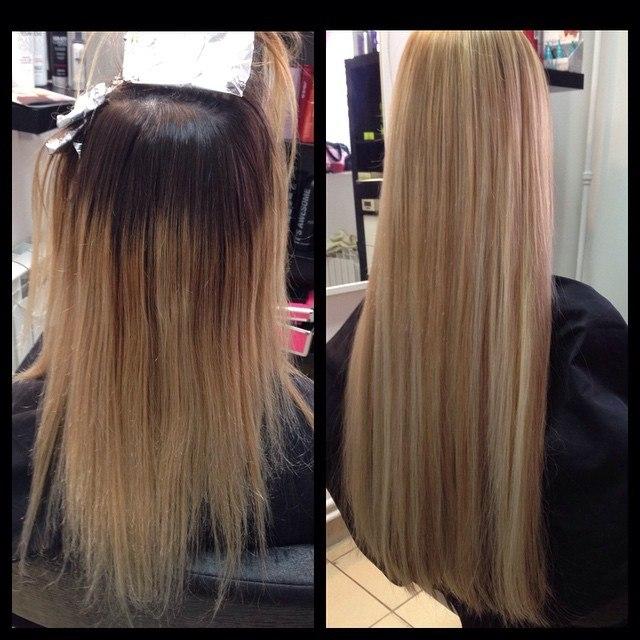 Сколько примерно стоит наращивание волос