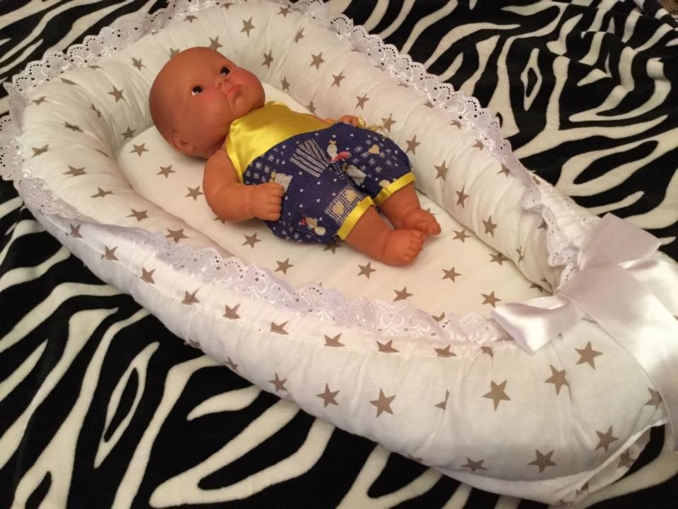 Кокон в кроватку для новорожденных