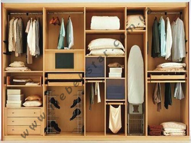 внутреннее устройство шкафов