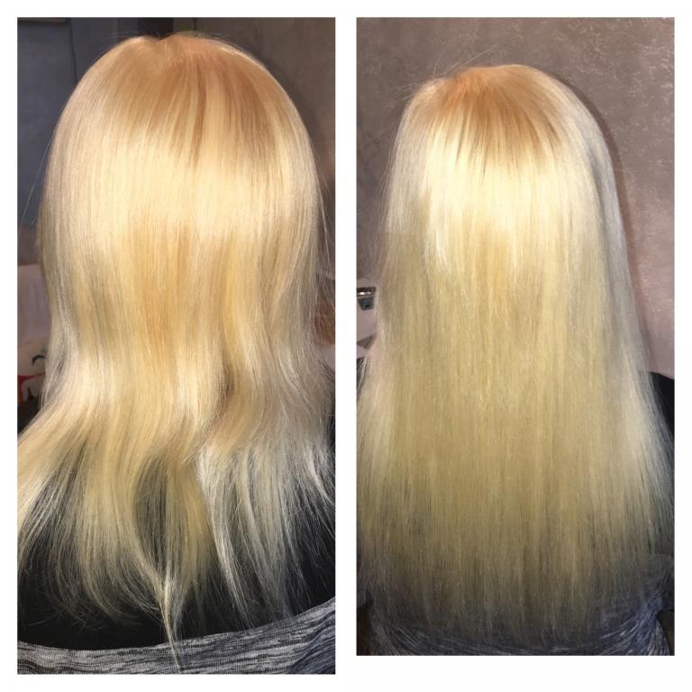 Ботокс эффект волос в домашних условиях