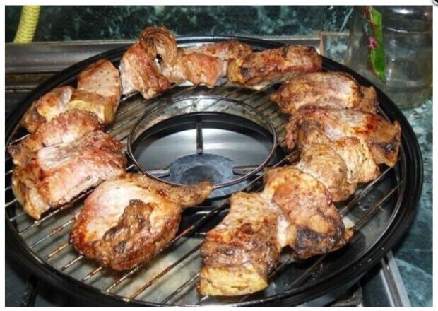 Рецепты приготовления на газ гриле