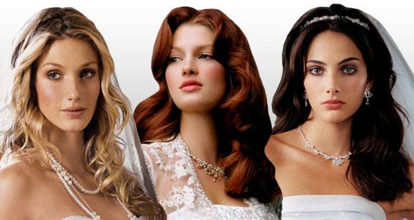 Распущенные свадебные прически подходят для всех типов волос.  Они одинаково красиво и эффектно смотрятся в...