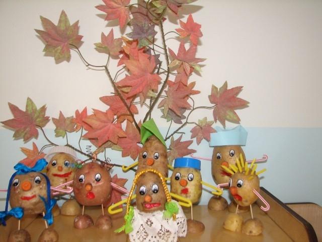 Сделать поделки для детского сада на тему осень 654