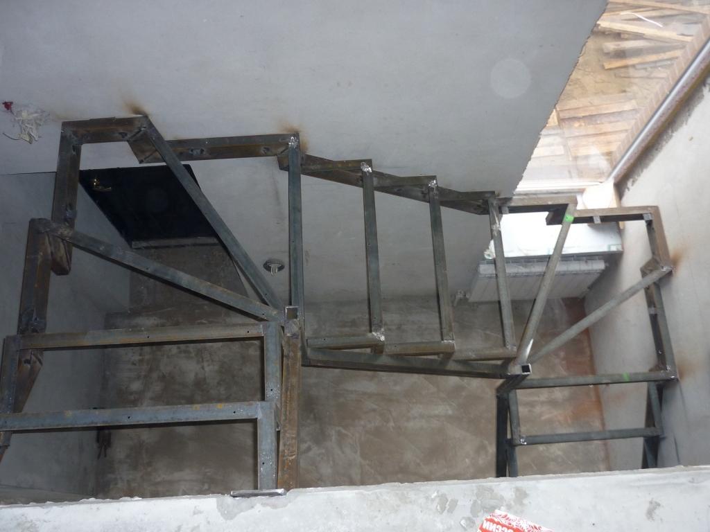 Металлокаркас для лестницы своими руками фото