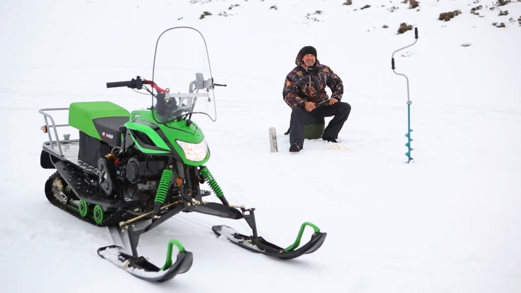 Ивановская барахолка IvBB.RU * Снегоход Динго Т - 150