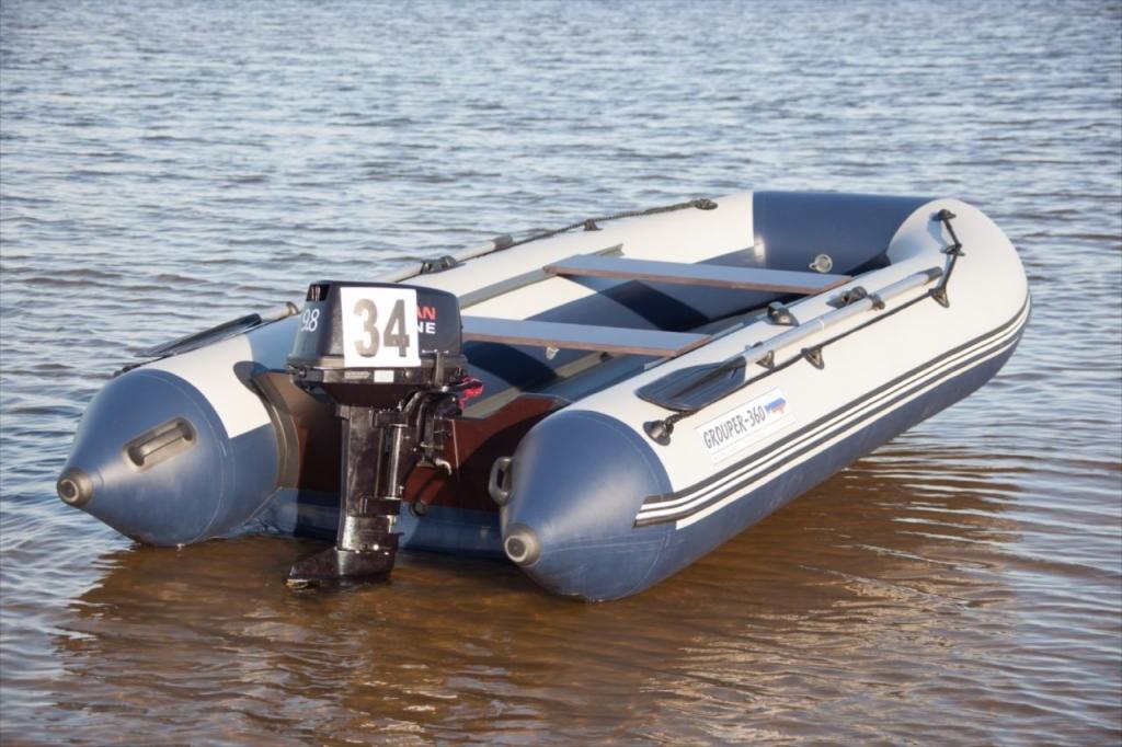 купить лодку с нднд grouper
