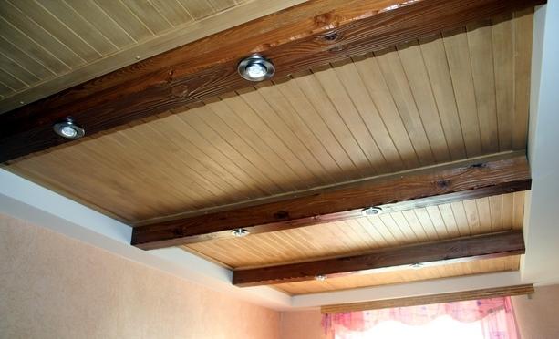 Декоративные потолок своими руками
