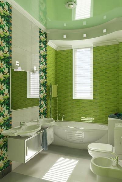 Дизайн и отделка ванной комнаты и туалета в