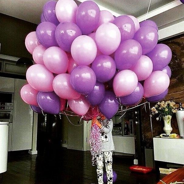 Фото цветов и воздушных шаров