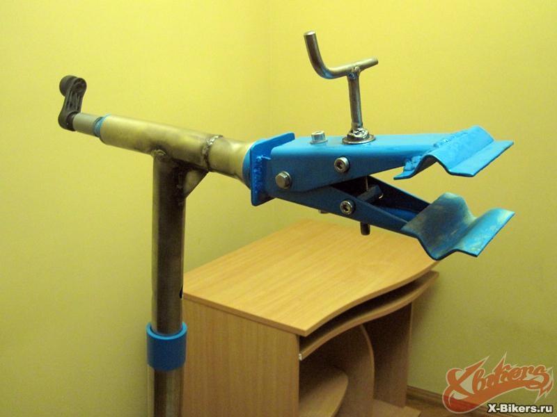Своими руками стойку для ремонта велосипедов 110