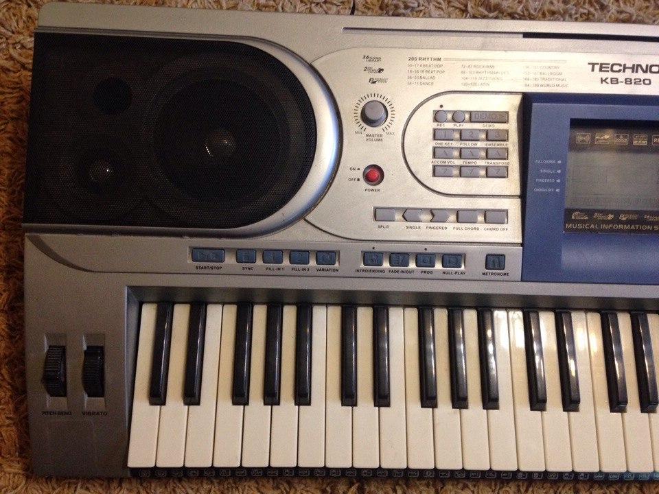 Синтезатор techno kb 820 инструкция скачать