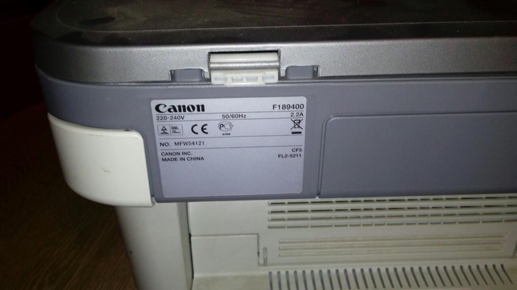 Драйвера для canon f189400 скачать