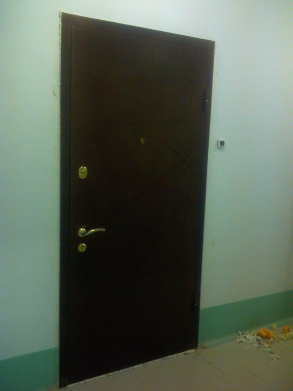 металлические двери в квартиру с установкой