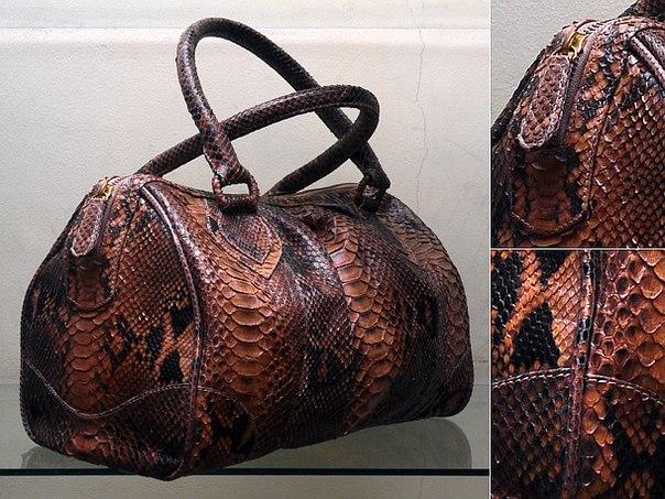 сумка сумочка саквояж из кожи питона змеи змеиной изделие фото купить дешево хорошая бали индонезия заказать...