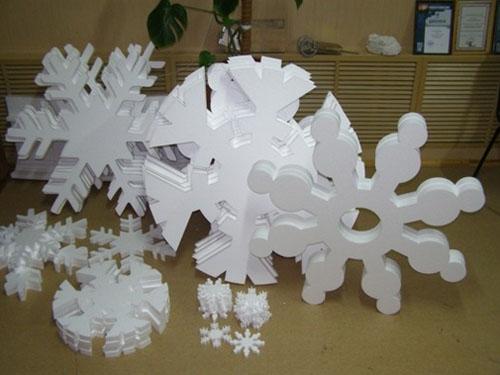 Снежинка на елку иКак сделать табурет из
