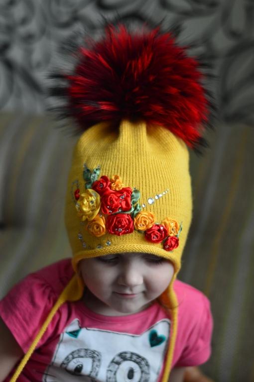 Украсит шапки своими руками