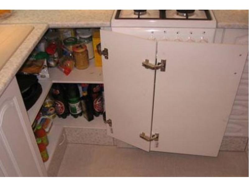 Угол в кухне как сделать